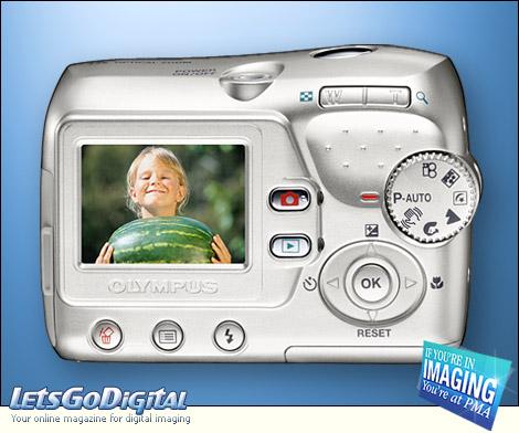 Olympus FE-115 Camera