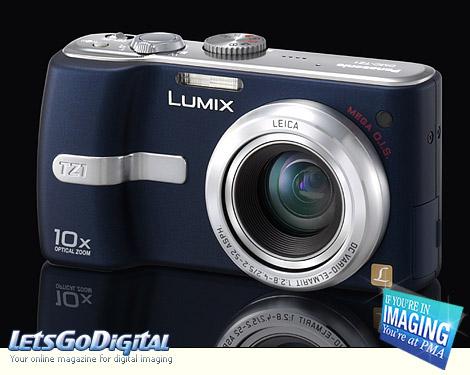 Panasonic Lumix DMC-TZ3, DMC-TZ2, DMC-TZ3, Lumix DMC-TZ2 ...