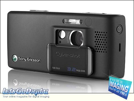 Sony Ericsson Cybershot K800 PMA 2006