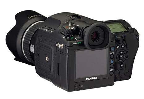 Pentax dSLR camera products