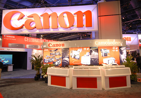 Canon at PMA 2007