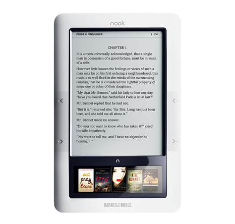Nook eBook reader