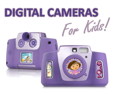 Digital cameras for Kids