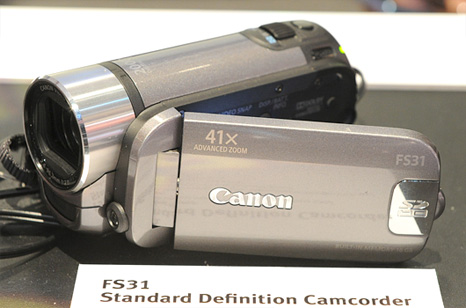 Canon HD camcorders