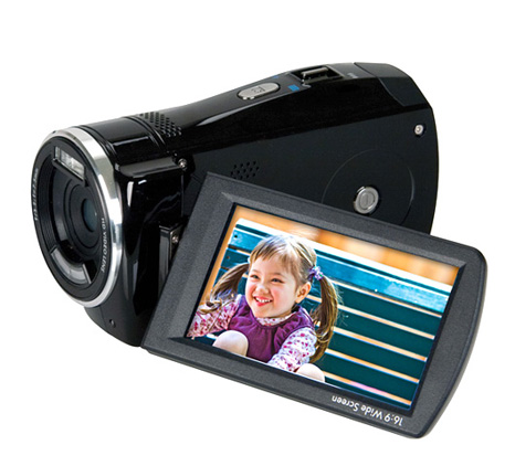 HP touchscreen camcorder