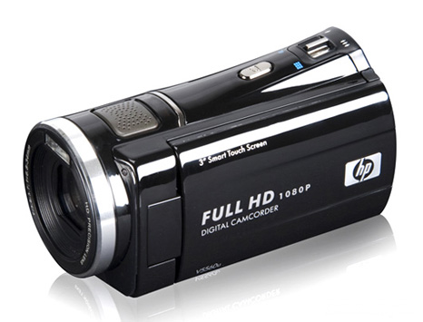 HP camcorder