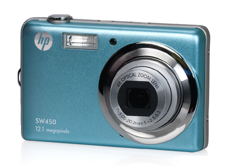 HP point-and-shoot camera