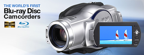Blu-Ray camcorders