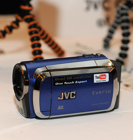 JVC Everio camcorders