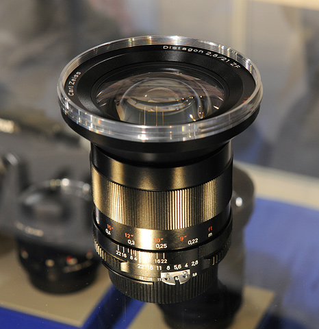 Zeiss lens for SLR cameras