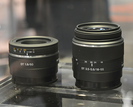 Sony Alpha lenses