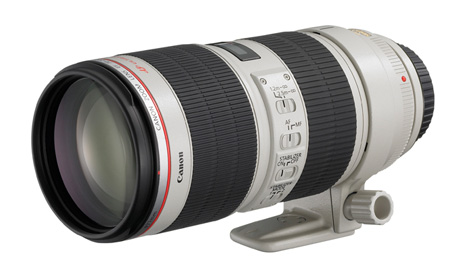 Canon 70-200mm lens